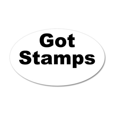 Got Stamps Wall Decal