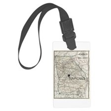 TERMINUS Map for Rick Grimes and Luggage Tag