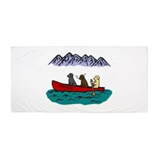 Labrador Adventure Beach Towel