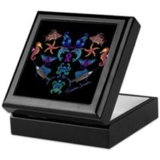 Cheri's Ocean Treasures Keepsake Box