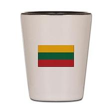 Flag of Lithuania - NO Text Shot Glass
