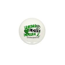 Gastroparesis Peace Love Cu Mini Button (100 pack)