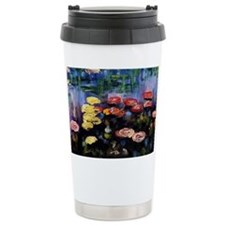 Waterlilies by Claude Monet Travel Mug