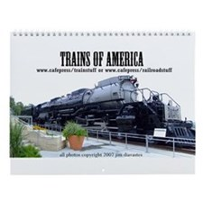 Trains of America Wall Calendar