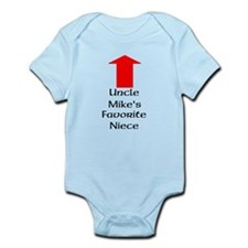 Custom Uncles Favorite Niece Body Suit