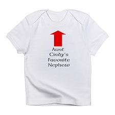 Custom Aunts Favorite Nephew Infant T-Shirt