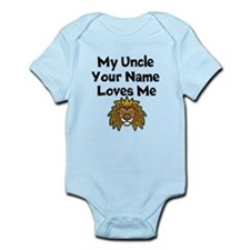 My Uncle Loves Me Lion (Custom) Body Suit