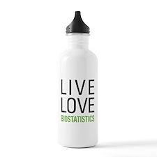 Live Love Biostatistic Water Bottle
