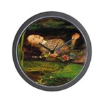 Ophelia by Millais Wall Clock