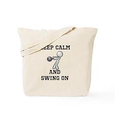 Funny Kettlebells Tote Bag