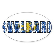 Svalbard Rectangle Decal