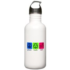 Peace Luck Run Stainless Water Bottle 1.0l