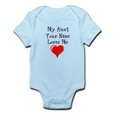 My Aunt (Your Name) Loves Me Body Suit