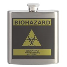 Biohazard hot zone Flask