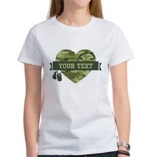 PD Army Camo Heart Tee