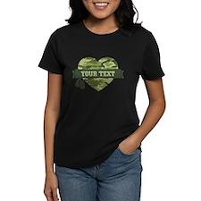 PD Army Camo Heart Tee