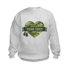 PD Army Camo Heart Sweatshirt