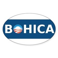 Obama BOHICA Lg Decal
