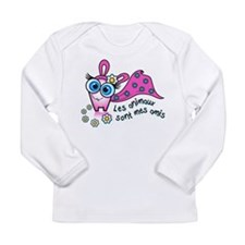 Les animaux sont mes amis Long Sleeve T-Shirt