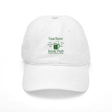 Custom Irish pub Baseball Baseball Cap