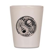 Yin & Bones Shot Glass