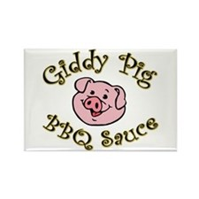 Giddy Pig Original Magnets