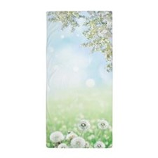 Dandelion Field Beach Towel