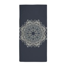 Lace Pattern Beach Towel
