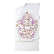 Hindu Ganesh Beach Towel