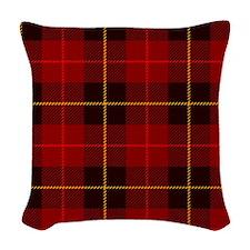 Tartan Plaid Woven Throw Pillow