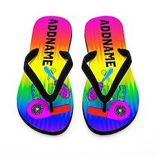 Colorful Stylist Flip Flops