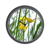 SummerUpClose Wall Clock 2