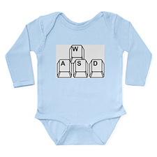 wasd.jpg Long Sleeve Infant Bodysuit