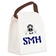 SMH = Shaking My Head Canvas Lunch Bag