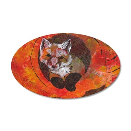 The Cunning Little Vixen Wall Decal