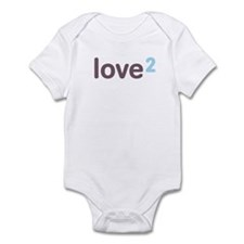 Twins Love Squared Onesie