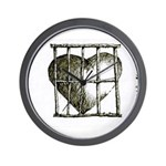 SLAVE TO LOVE Wall Clock