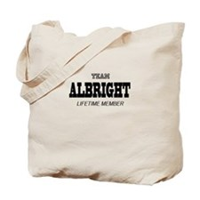 Team Albright Tote Bag