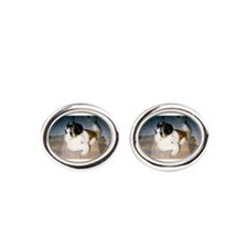 Pekingese Dog Cufflinks
