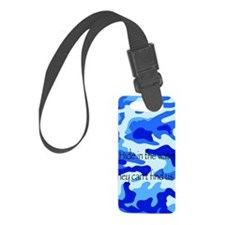 Hide in water Luggage Tag