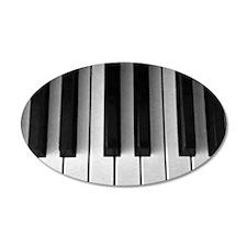 Piano Keys: Wall Decal