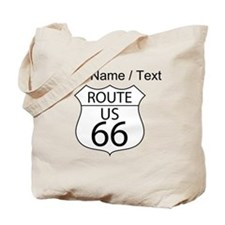 Custom U.S. Route 66 Sign Tote Bag
