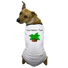 Custom Potted Plant Dog T-Shirt