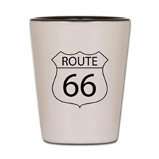 Route 66 Sign Shot Glass