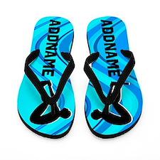 #1 Swimmer Flip Flops