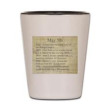 May 5th Shot Glass