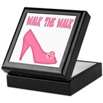 Walk the Walk Keepsake Box