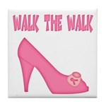 Walk the Walk Tile Coaster