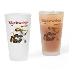 Kyokushin Dragon Drinking Glass