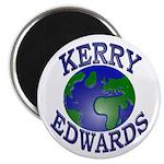 Kerry-Edwards Earth Magnet (10 pk)